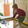Montessori Floor Mopping Lesson Activity