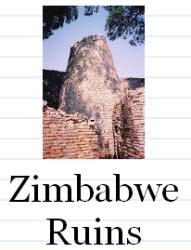 African Landmarks Flashcards