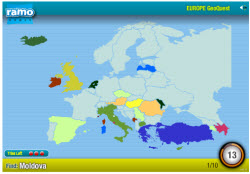 European Countries Online Quiz