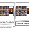 American Presidents Cards Montessori, Age 6 to 9