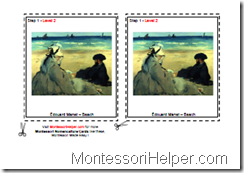 Montesori Art Level 1 Step 2