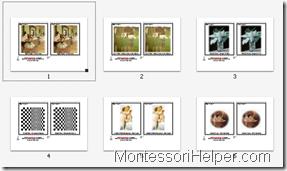 Montessori Art Cards Step 1 Level 1