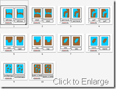 Montessori Land and Water Forms