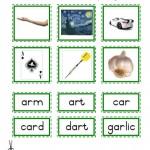 "Montessori Language Materials Green Consonants ""AR"", Age 3 to 6.pdf"