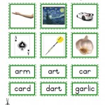 "Montessori Language Materials Green Consonant ""ar"", Age 3 to 6.pdf"