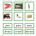 "Montessori Language Materials Green Consonant ""aw"", Age 3 to 6.pdf"