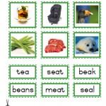 """Montessori Language Materials Green Consonant """"ea"""", Age 3 to 6.pdf"""