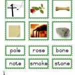 """Montessori Language Materials Green Consonant """"o before e"""", Age 3 to 6.pdf"""
