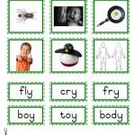 "Montessori Language Materials Green Consonant ""Y"", Age 3 to 6.pdf"