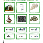"Montessori Language Materials Green Consonants ""sh"", Age 3 to 6.pdf"