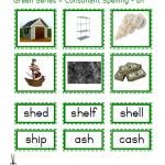 "Montessori Language Materials Green Consonants ""sh"", Age 3 to 6.pdf"