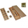Montessori Seguin Board A with Beads (Teens Board) Lesson Activity