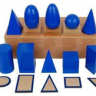 Montessori Geometric Solids Lesson Activity