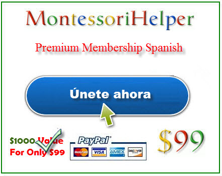Montessori Spanish Materials Membership