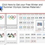 Olympic Games Montessori Materials