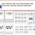 Olympic Games Montessori Materials