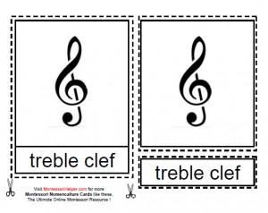 Montessori Music Notation Age 6 to 9 Materials