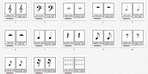 Montessori Music Notation Printables