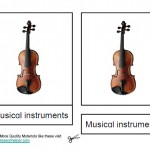 Montessori Music Materials, Musical Instrument Cards, Age 6 to 9