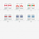 Montessori North American Flags, Age 3 to 6