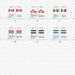 Montessori North American Flags, Age 3 to 6