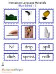 "Montessori Language Materials Blue ""I"", Age 3 to 6.pdf"