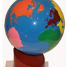 Montessori Lessons, The Continent Globe, Age 3 to 6