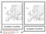 Montessori Materials European Countries, Age 3 to 6