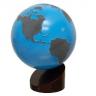 Montessori Lessons, The Sandpaper Continents Globe, Age 3 to 6