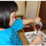 Montessori Bean Pouring Lesson Activity Age 1 to 3