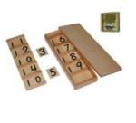 Montessori Seguin Board A with Beads (Teens Board) Lesson Activity