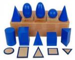 Montessori Geometric Solids Lesson Activity