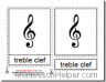 Montessori Music Materials, Music Notation Cards, Age 6 to 9