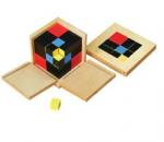 Montessori Trinomial Cube Lesson Activity