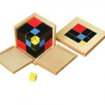 Montessori Trinomial Cube Lesson Activity
