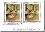 Montessori Art Materials Art Step 1 Level 1 Cards Age 3 to 6