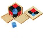 Montessori Binomial Cube Lesson Activity