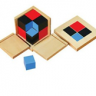 Montessori Binomial Cube Lesson Activity