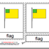 Montessori 3 Part Cards, Parts of a Flag, Age 3 to 6