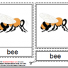 Montessori Bee Materials, Age 3 to 6