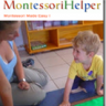 Montessori Cutting Flowers Lesson Activity