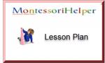 Montessori Metal Insets Lesson Activity