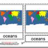 Montessori Oceans Materials, Age 3 to 6