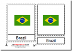South American Flags Materials, Age 3 to 6