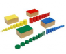 Montessori Knobless Cylinders Lesson Activity