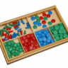 Montessori Stamp Game - Static Subtraction Lesson Activity